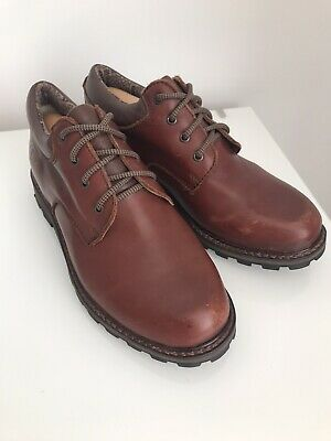 £29.99 • Buy Brasher Mens Shoes Size 7 Brown Leather Country Master Lace Up With Goretex