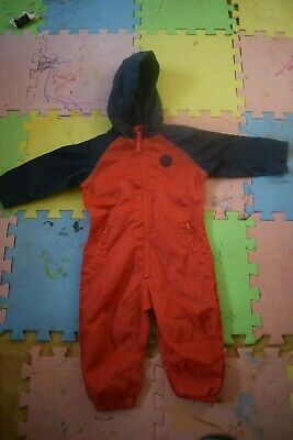 £2.99 • Buy BABY Girl Boy Waterproof All In One 9-12 Months Matalan In Excellent Condition