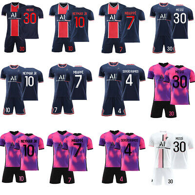 AU19.99 • Buy Adults Youth Home Football Kits Soccer Jersey Custom Tracksuits Training Suits