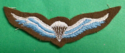 £13.47 • Buy SOUTH AFRICA AIRBORNE PARACHUTE WING SCARCE OLD Early AFRICAN ARMY PARA WINGS #2