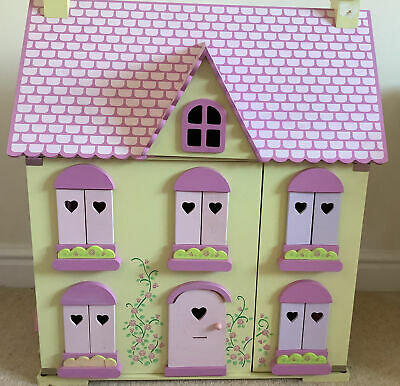 £30 • Buy ELC Wooden Dolls House, Furniture And Family