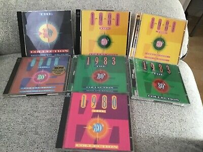 £3.20 • Buy Job Lot Bundle Time Life The 80s Collection Cds 1980,82,82,83