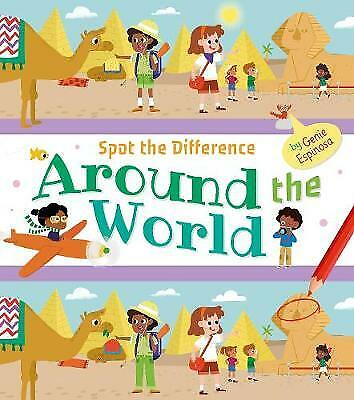 £4.99 • Buy New, Spot The Difference Around The World Activity Book For Children Age 5+