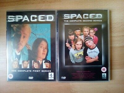 £4 • Buy Spaced The Complete Series 1 & 2 DVDs (Simon Pegg)