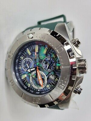 £64.81 • Buy Invicta Pro Diver Abalone Chronograph Watch Green 52mm 25096