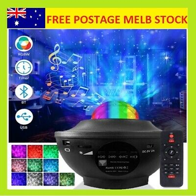 AU32.55 • Buy LED Galaxy Starry Night Light Projector Ocean Star Sky Party Baby Kids Room Lamp