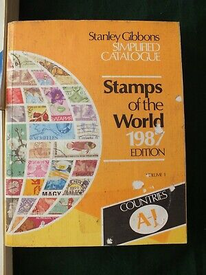 £3.99 • Buy Simplified Catalogue Of Stamps Of The World: V. 1: A-J By Stanley Gibbons 1987