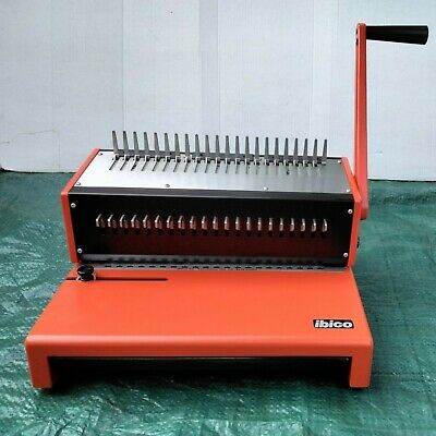 £50 • Buy IBICO COMB Binder COMPLETE WITH Mixed Bindings Combs & Covers As Photos VGC