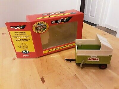 £30 • Buy Britains Farm Claas Tipping Silage Trailer