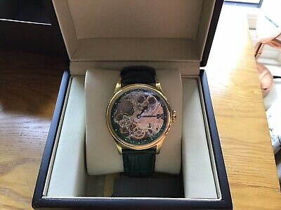 £105 • Buy Thomas Earnshaw Bauer Skeleton Automatic Watch - Brand New With Tags - RRP £470