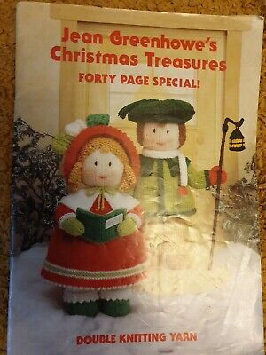 £4.99 • Buy Jean Greenhowe's Christmas Treasures 40 Page Special - Knitted Dolls Patterns