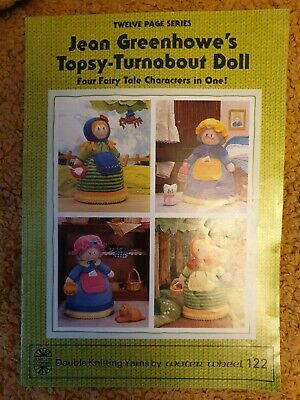 £4.99 • Buy Jean Greenhowe`s Topsy-turnabout Doll. .knitting Pattern Booklet..
