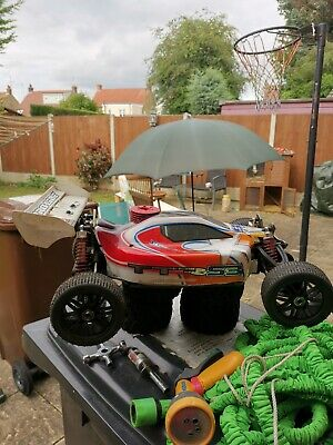 £320 • Buy Rc Cars 1/10th Scale Nitro Just Ran The Engine In And 1/8th Buggy