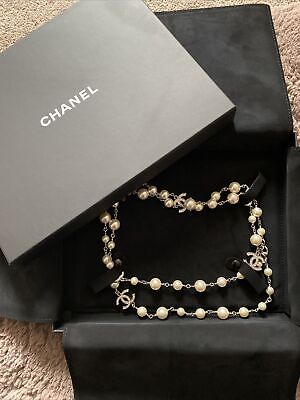 £1000 • Buy Authentic Chanel Pearl And Diamonte Necklace RRP  £1600