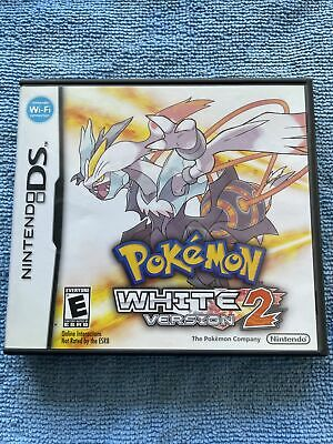 $185 • Buy Pre-Owned! Pokemon: White Version 2 (Nintendo DS, 2012) Complete! AUTHENTIC!