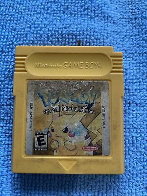 $43 • Buy Nintendo Game Boy Color - Pokemon: Yellow Version - Authentic / Cleaned/ Tested