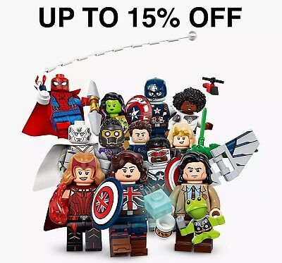 £5.99 • Buy Lego Marvel Studios Minifigures 71031 | Pick Your Figure! | UP TO 15% OFF
