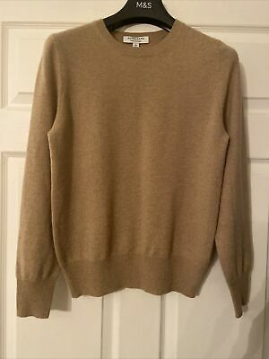 £40 • Buy M&S Autograph Cashmere Jumper In Camel Size 10 Bnwt