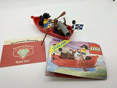£21.18 • Buy Lego Vintage LL Pirates Imperial Guard #6245-Harbor Sentry-100% W/Minifig FAST!