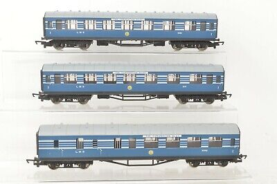 £74.95 • Buy Hornby OO Gauge - Rake Of 3 LMS Coronation Scot Coaches [Old Type] - Boxed