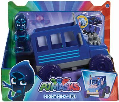 £14.99 • Buy PJ Masks Night Ninja Bus + Articulate Figure Toy Toys Car Vehicle Play New Boxed