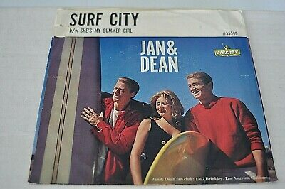 £7.31 • Buy Surf City By Jan & Dean On Liberty 45 Rpm Records P/s