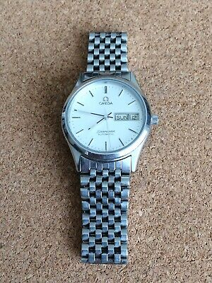 £325 • Buy Mens Omega Seamaster Automatic Watch With Beads Of Rice Bracelet