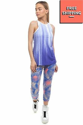 £0.99 • Buy NEW BALANCE Vest Top Size M  Mesh Back DRY FRESH FITTED Built In Bra Printed