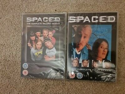£8.95 • Buy Spaced Complete First 1st & Second 2nd Series Simon Pegg Dvd (S)