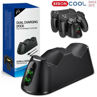 AU20.56 • Buy For PS4 PlayStation 4 Controller Dual Fast Charger Dock Station Charging Stand