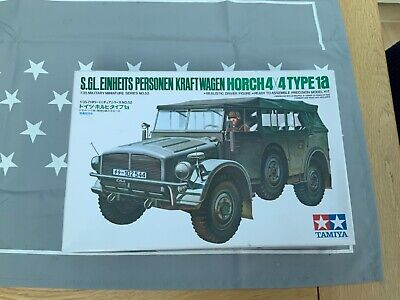£8.75 • Buy Tamiya WW2 1/35 Horch 4x4 Type 1a Personnel Carrier Model No.52