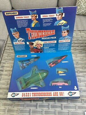 £22.20 • Buy Original 1992 Matchbox Die Cast Thunderbirds Rescue Pack For Tracy Island 🏝