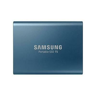 £56.99 • Buy SAMSUNG T5 External SSD Solid State Drive - 500 GB Blue Brand New