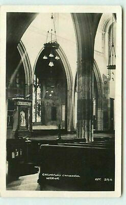 £2.99 • Buy Chelmsford Cathedral Interior 294 RPPC Real Photo Postcard Unposted CW