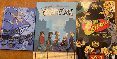 £25.45 • Buy 3 Signed Autographed Comic Graphic Novel Books