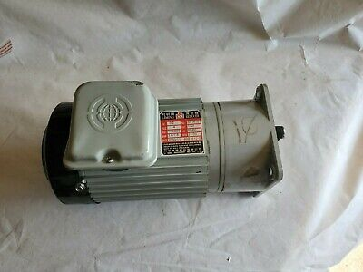 £109.11 • Buy Liming SV-A10  .2 KW {1/4 HP} 1 PH 33 RPM TEFC Gear Reducer Electric Feed Motor