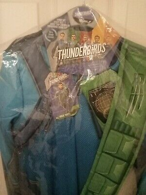 £10 • Buy Thunderbirds Fancy Dress Virgil Tracy Outfit New Age 7/8 Halloween
