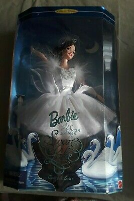 £10.23 • Buy 1998 Barbie As The Swan Queen In Swan Lake Doll Collector Edition (NRFB)