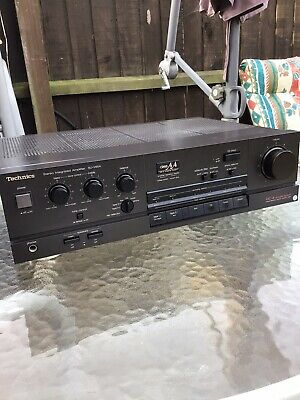 £99.99 • Buy Vintage Technics SU-V65A Class AA Hifi Amplifier,serviced,power And Punch