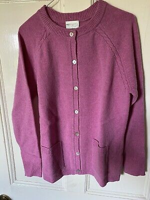 £15 • Buy Cotswold Collections Lambs Wool Cardigan Size L