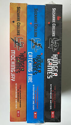 £7.99 • Buy HUNGER GAMES Young Adult YA Fiction Catching Fire Mockingjay Books Set NEW X3