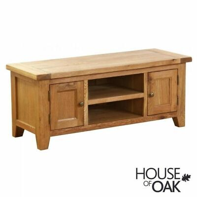 £80 • Buy New Hampshire SOLID OAK TV MEDIA UNIT CABINET From House Of Oak (cost £400)