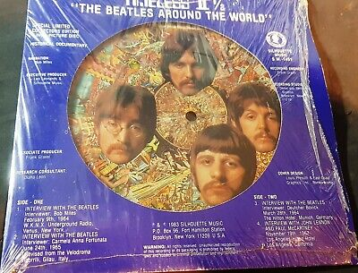 £19.99 • Buy The Beatles 'Beatles Around The World 2&1/2' 1983 Picture Disc GOOD. US £19.99