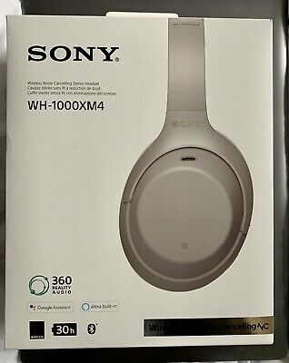 £195 • Buy Sony WH-1000XM4 Noise Cancelling Wireless Headphones - Silver