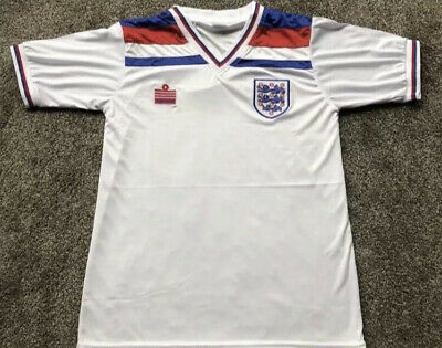 £36 • Buy Retro England Admiral 1982 World Cup Shirt L UK *Brand New Sealed*