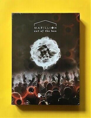 £34.99 • Buy Marillion 'Out Of The Box' 3-DVD Set (Racket, 2016) Prog Heaven...NEW & SEALED!!