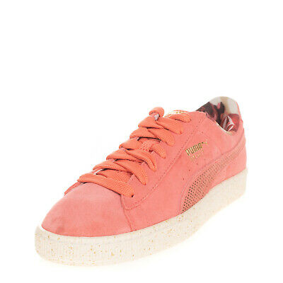 AU37.60 • Buy PUMA X CAREAUX Suede Leather Sneakers EU 39 UK 6 US 8.5 Perforated Logo Lace Up