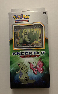 $29.96 • Buy Pokemon TYRANITAR Knockout Collection Box 2x Booster Packs 1 Holo 1 Coin Sealed