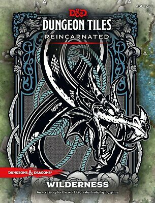 AU43.99 • Buy RPG - Dungeons And Dragons - Dungeon Tiles Reincarnated Wilderness NEW!