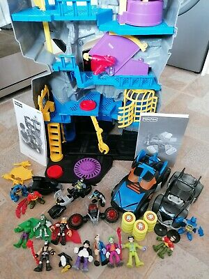 £49.99 • Buy Fisher Price Batman Cave V8945 Complete With Instructions, Lights Up & Extras